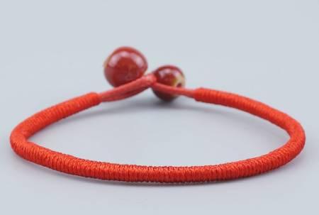 Garantía de calidad 100% llega mejor baratas Pulsera Roja Tibetana de la suerte y amuleto de protección